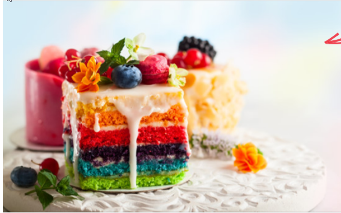 Facebook ad image for cakeshop