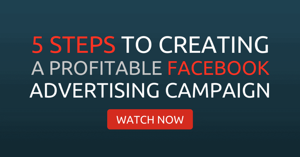 Profitable Facebook advertising campaign
