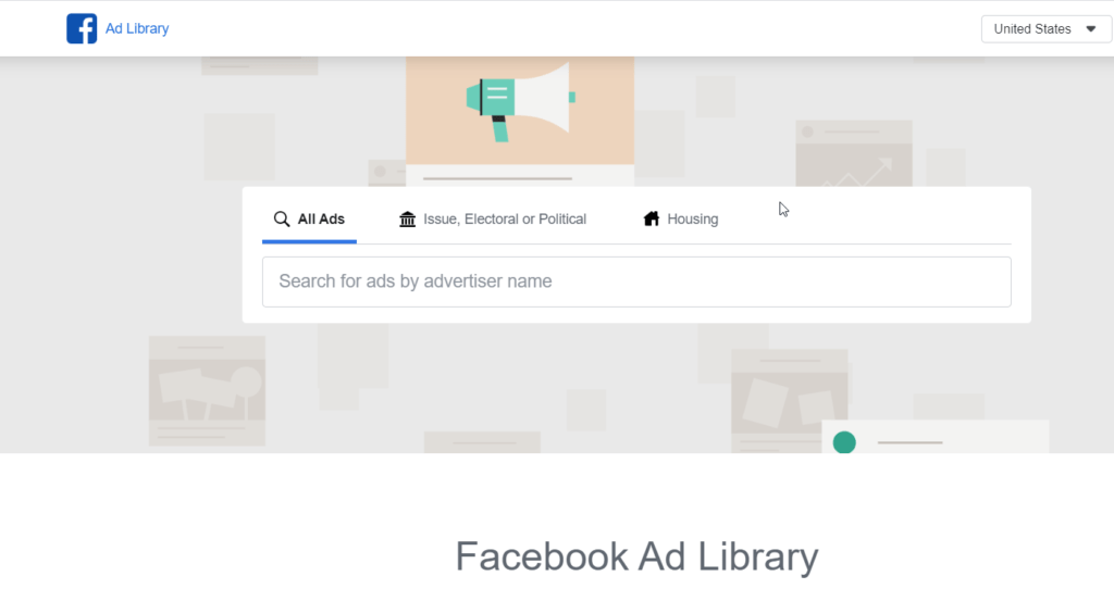 The Facebook Ad Library