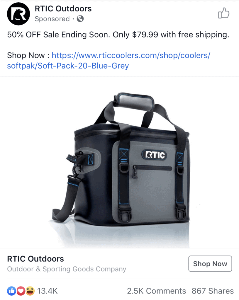 successful-facebook-ads-2019-rtic-outdoors