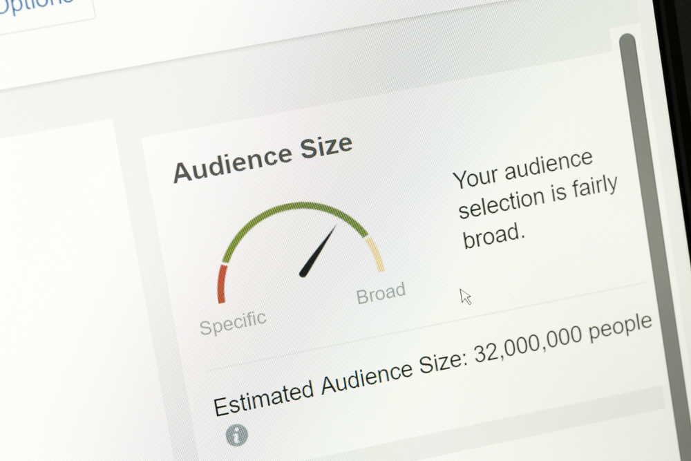 Facebook audience size